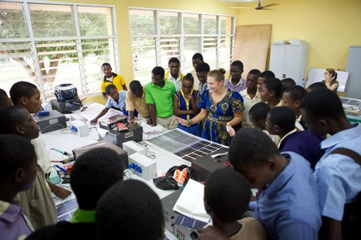 Solar Panel Workshop at TTI